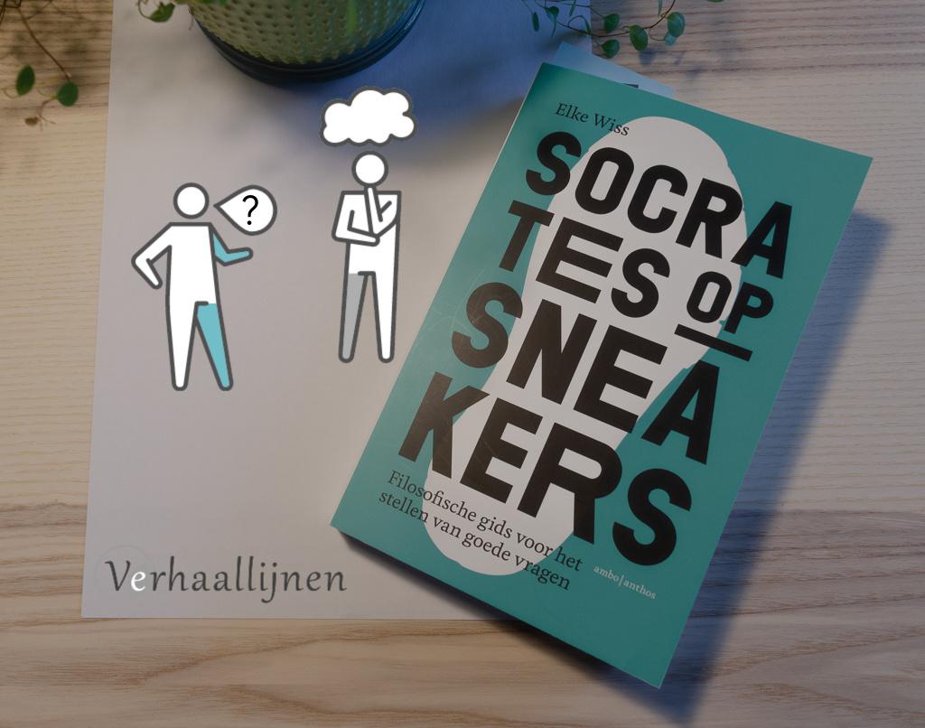 Coverbeeld review Socrates op sneakers
