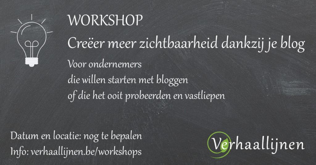 Workshop van Verhaallijnen