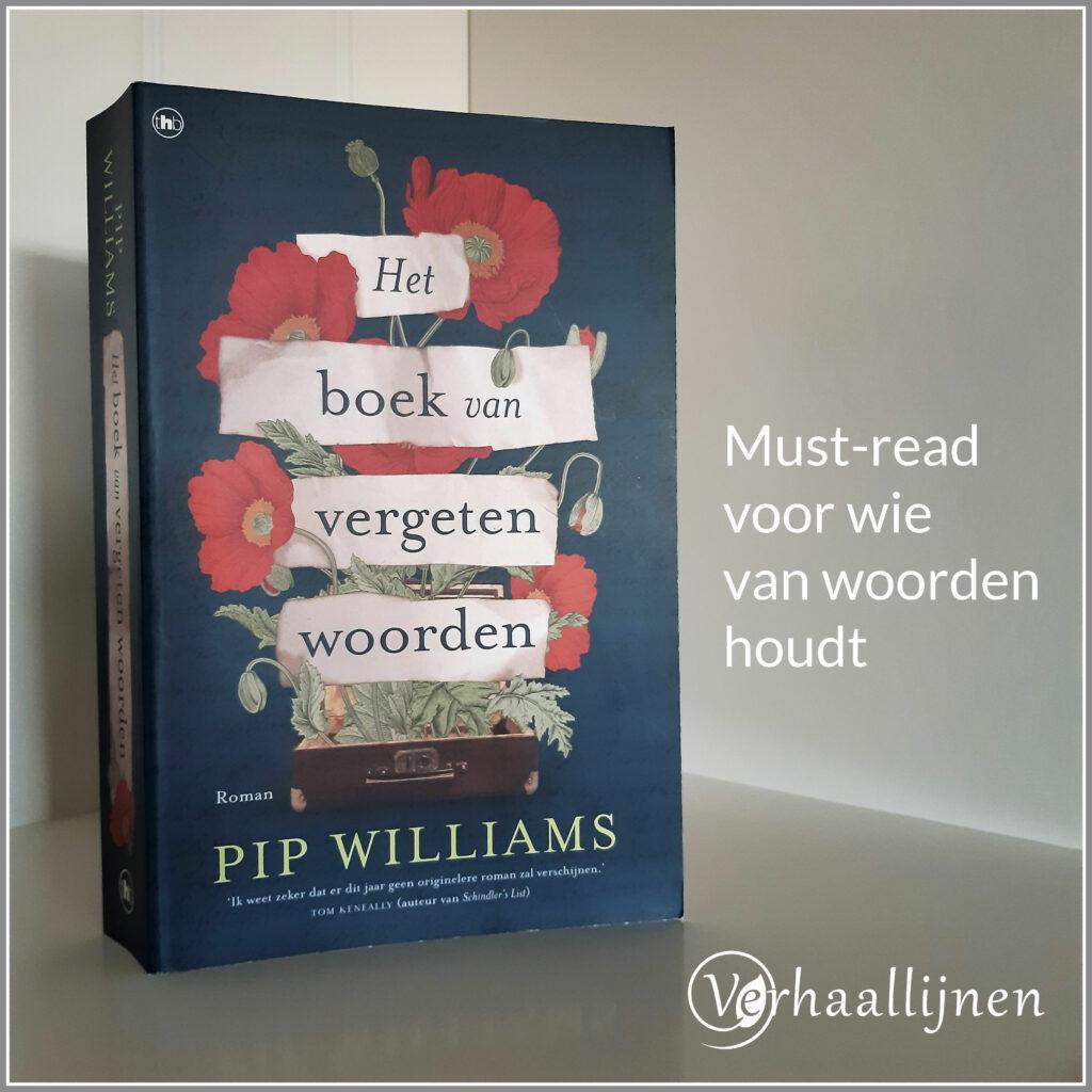 Cover van Het boek van vergeten woorden