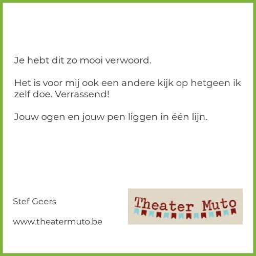 Review van Stef Geers van Theater Muto